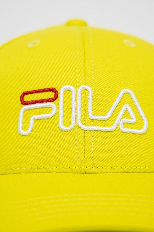 Fila - Czapka żółto - zielony