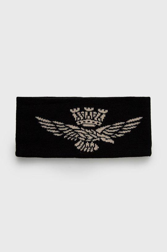 czarny Aeronautica Militare - Opaska Damski