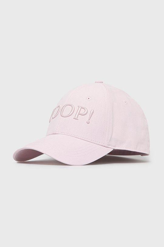pastelově růžová Joop! - Kšiltovka Dámský