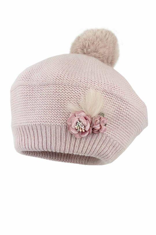 pastelowy różowy Jamiks - Czapka dziecięca Lois Dziewczęcy