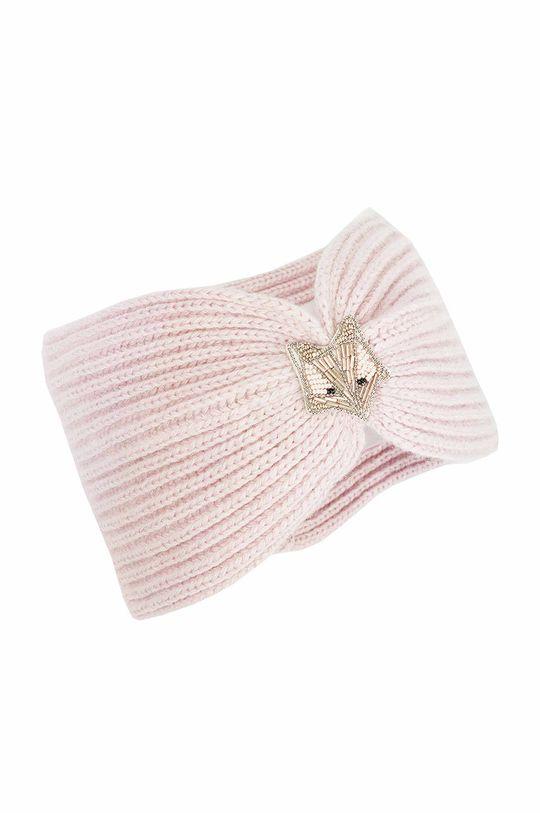Jamiks - Detská čelenka Lorenza pastelová ružová