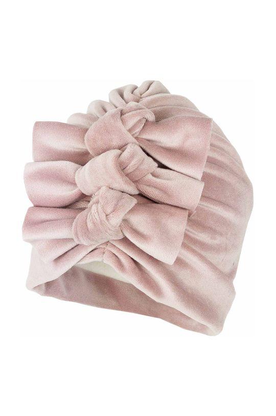 Jamiks - Caciula copii Travia roz pastelat