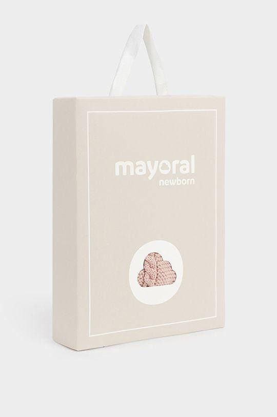 różowy Mayoral Newborn - Komplet dziecięcy
