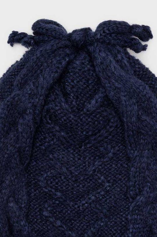 Mayoral - Czapka, szalik i rękawiczki dziecięce granatowy