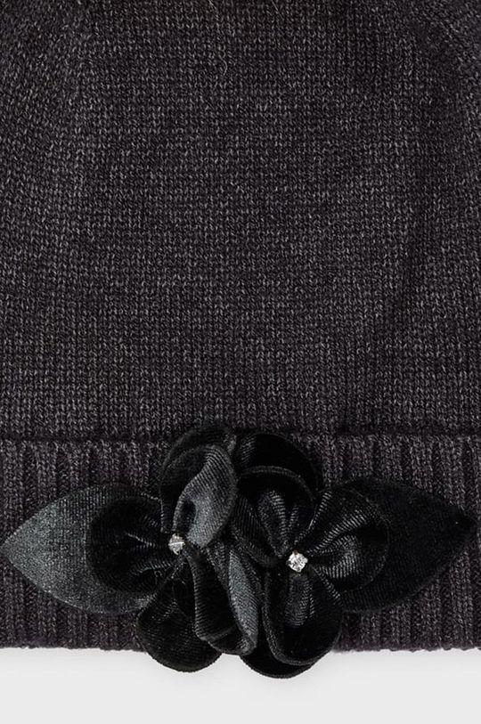 Mayoral - Czapka, szalik i rękawiczki dziecięce szary