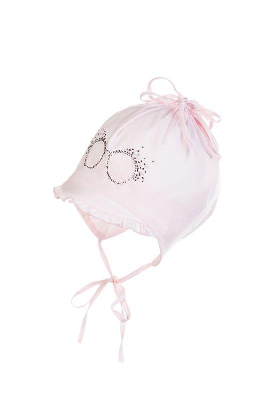 pastelově růžová Jamiks - Dětska čepice MARGARITA Dívčí