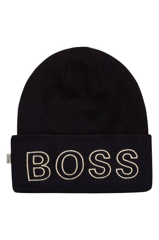 negru Boss - Caciula copii De fete
