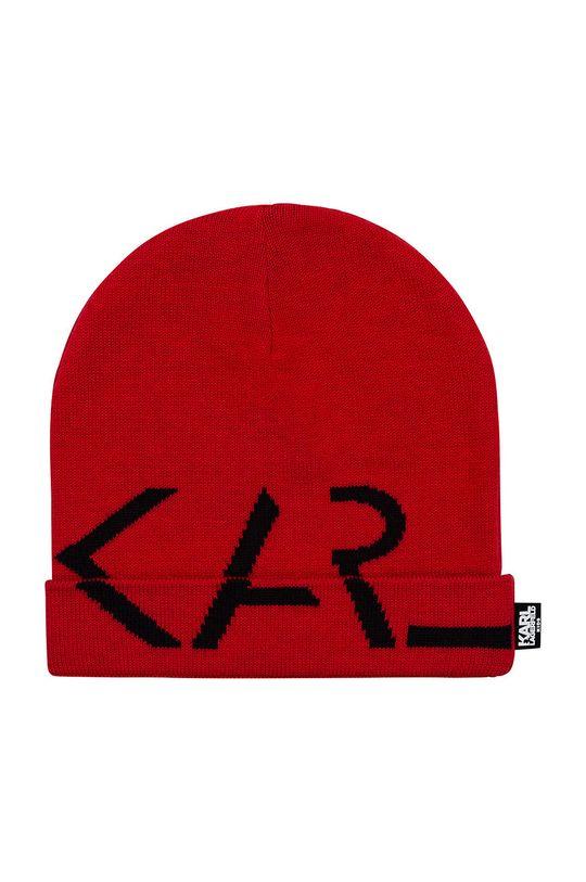 czerwony Karl Lagerfeld - Czapka dziecięca Dziewczęcy