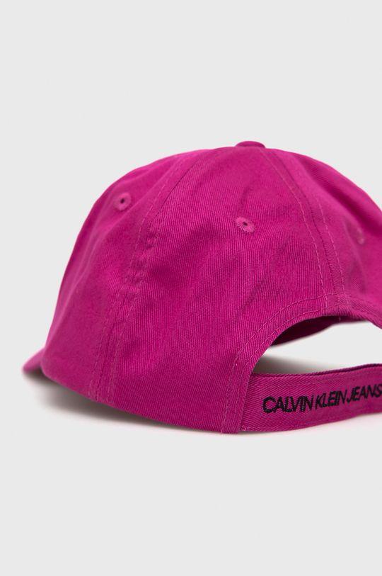 Calvin Klein Jeans - Czapka z daszkiem różowy