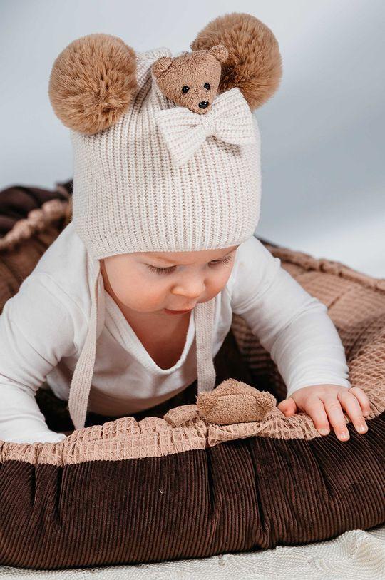 piaskowy Jamiks - Czapka dziecięca Colton Dziecięcy