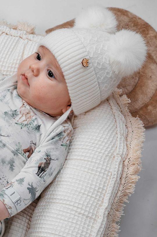 kremowy Jamiks - Czapka dziecięca Rey Dziecięcy