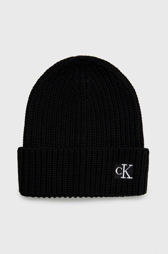 czarny Calvin Klein Jeans - Czapka dziecięca Dziecięcy