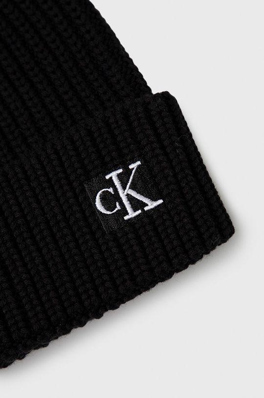 Calvin Klein Jeans - Czapka dziecięca czarny