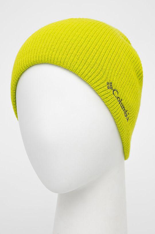 Columbia - Czapka dziecięca żółto - zielony