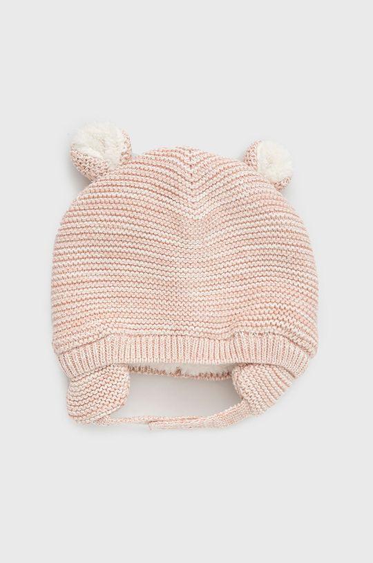pastelowy różowy GAP - Czapka dziecięca Dziecięcy