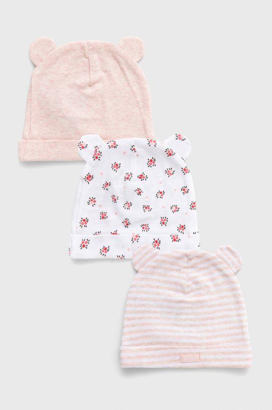 różowy GAP - Czapka dziecięca (3-pack) Dziecięcy