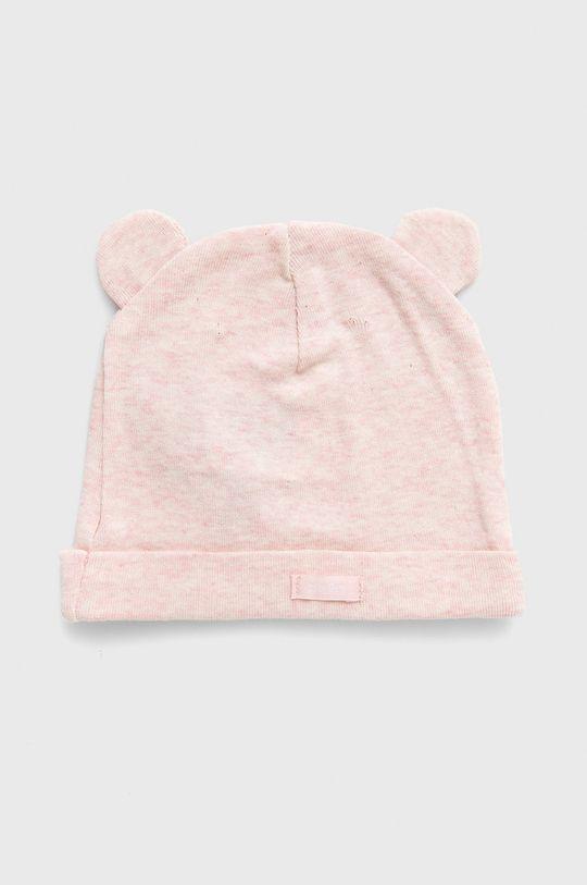 GAP - Czapka dziecięca (3-pack) różowy