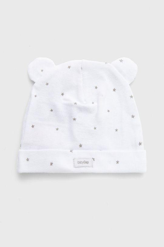 GAP - Czapka dziecięca (3-pack) 100 % Bawełna