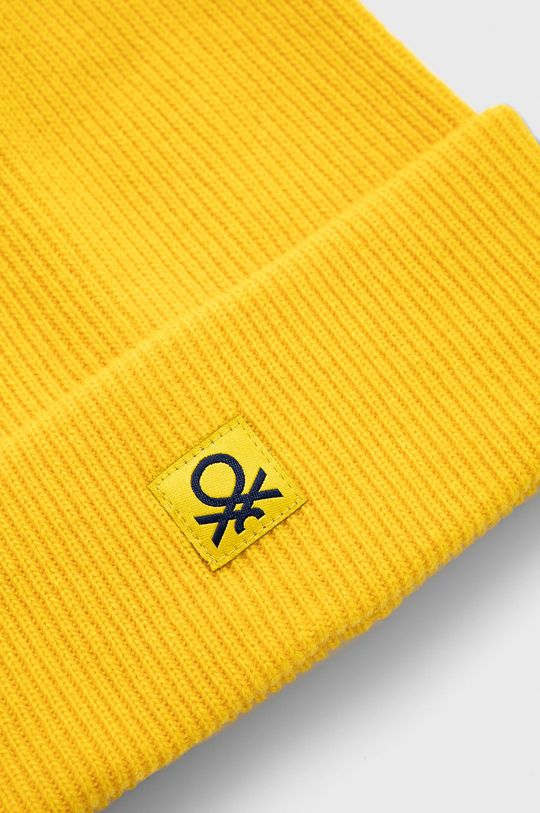 United Colors of Benetton - Czapka dziecięca 20 % Poliamid, 80 % Wełna