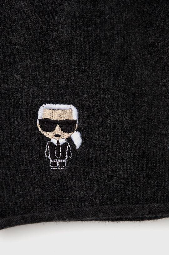 Karl Lagerfeld - Czapka 10 % Kaszmir, 90 % Wełna