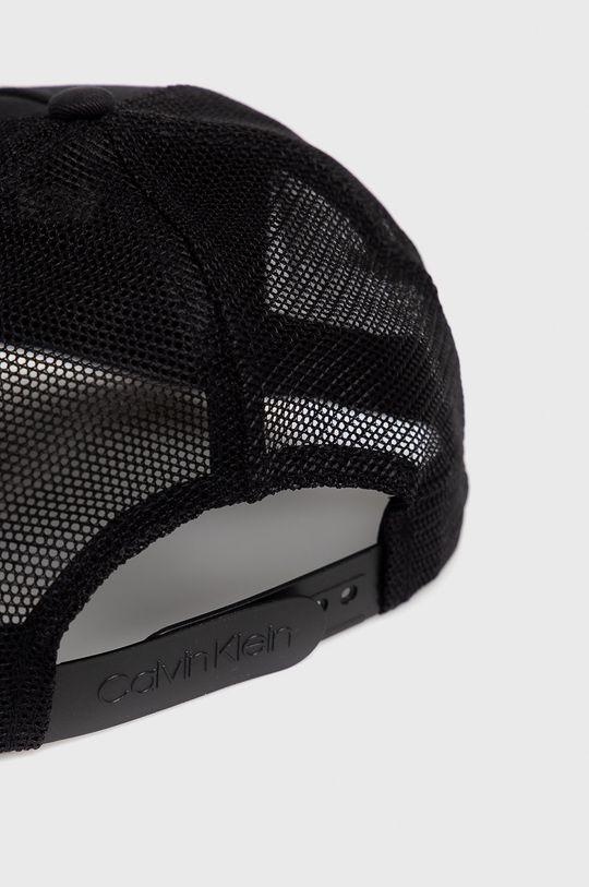 Calvin Klein - Czapka Materiał 1: 100 % Bawełna, Materiał 2: 100 % Poliamid
