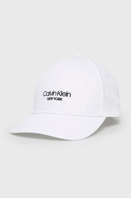 biały Calvin Klein - Czapka Męski