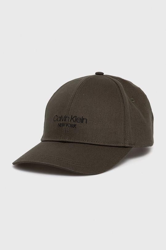 svetlá olivová Calvin Klein - Čiapka Pánsky