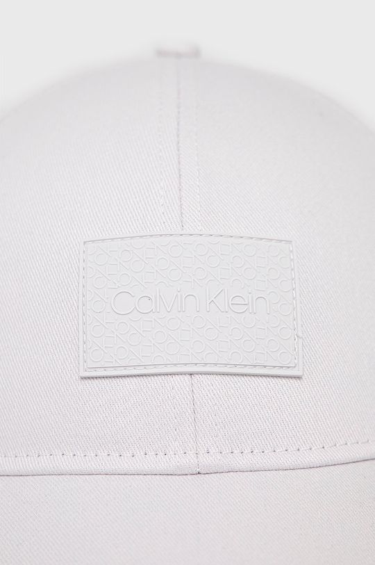 Calvin Klein - Czapka z daszkiem jasny szary