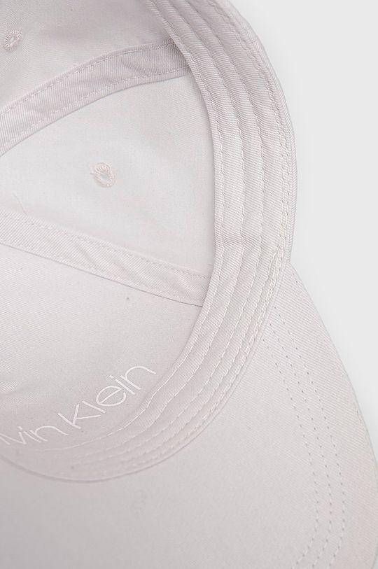 jasny szary Calvin Klein - Czapka z daszkiem