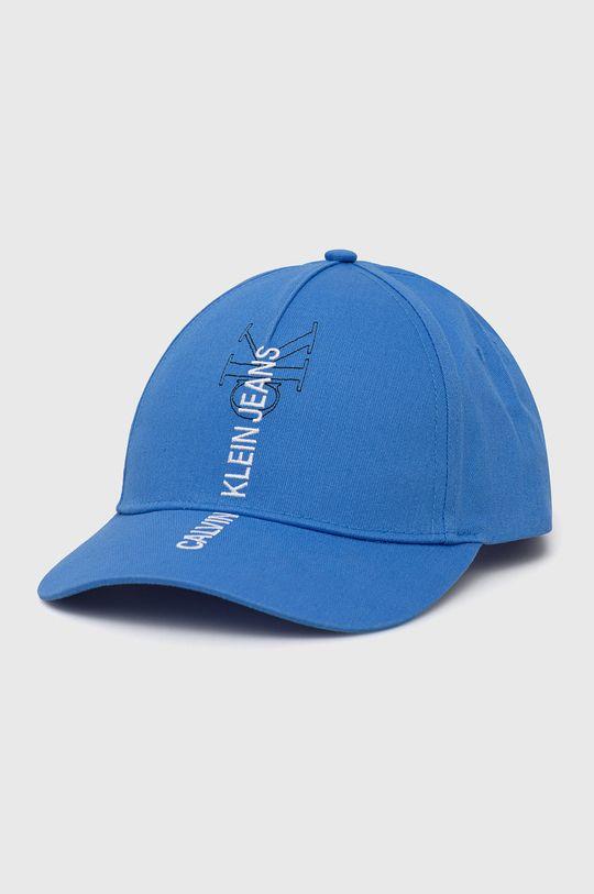 niebieski Calvin Klein Jeans - Czapka Męski
