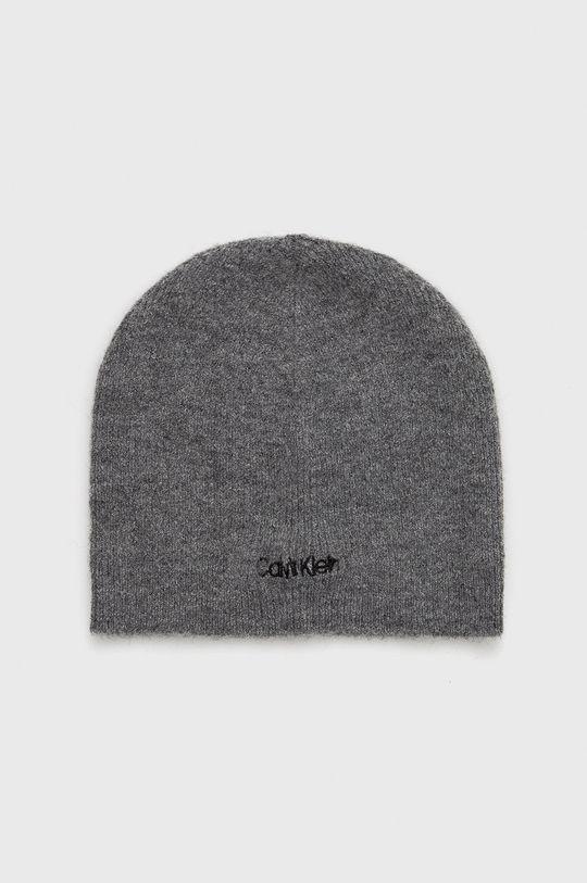 jasny szary Calvin Klein - Czapka Męski