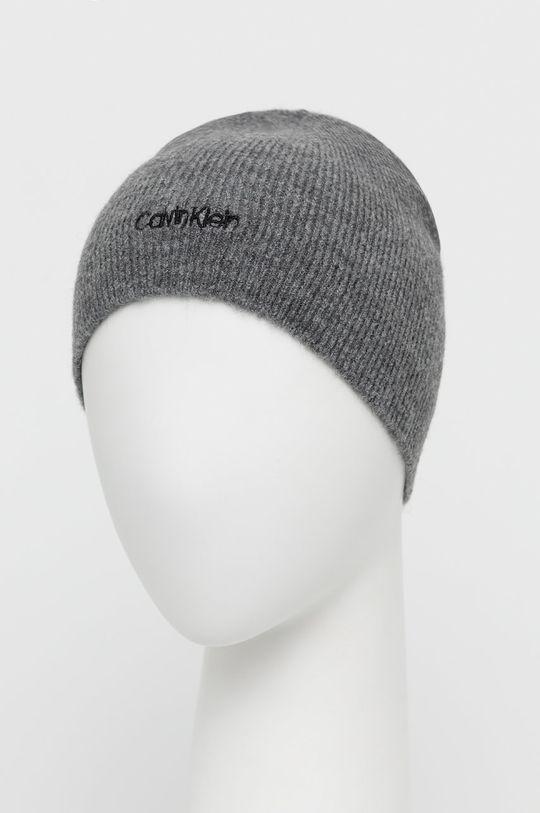 Calvin Klein - Czapka jasny szary