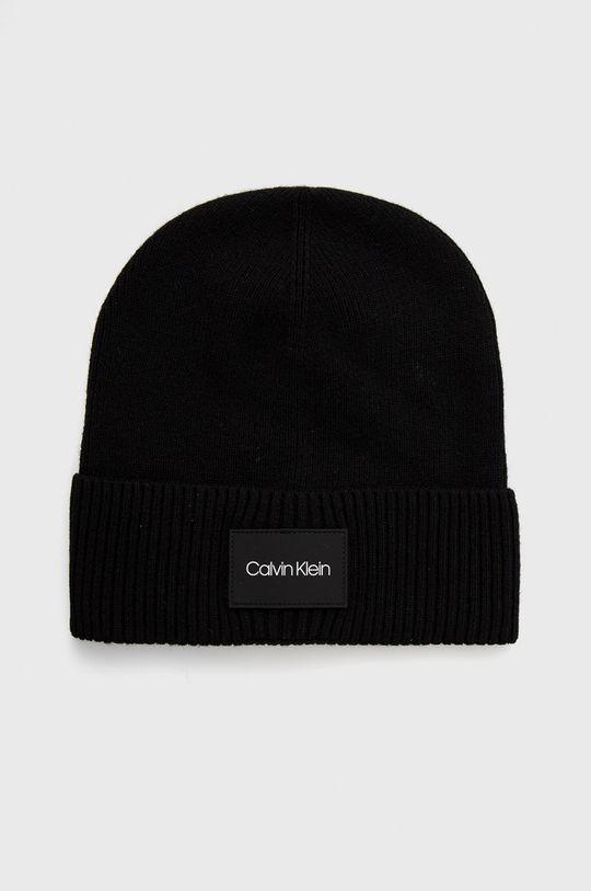czarny Calvin Klein - Czapka Męski