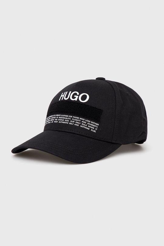 czarny Hugo - Czapka Męski