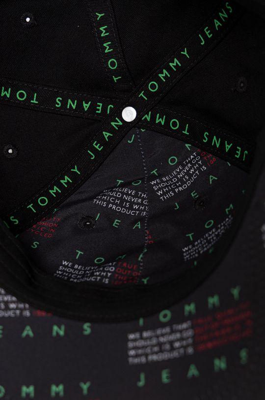 Tommy Jeans - Čepice  Podšívka: 100% Polyester Hlavní materiál: 100% Organická bavlna