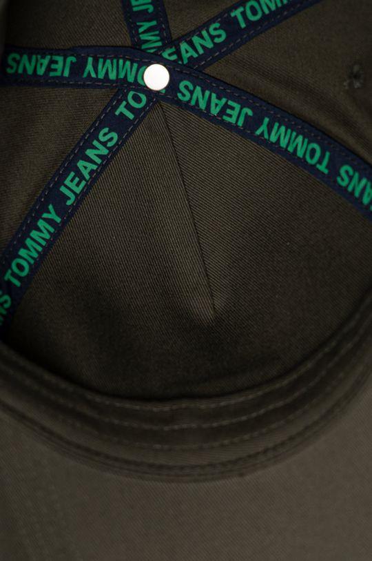 olivová Tommy Jeans - Čepice