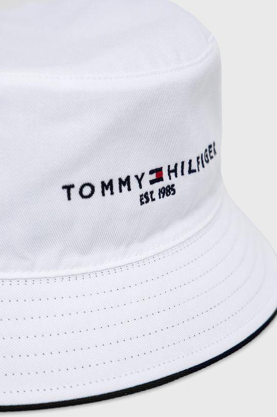 biały Tommy Hilfiger - Kapelusz dwustronny