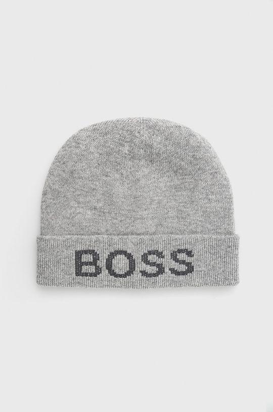 szary Boss - Czapka Męski