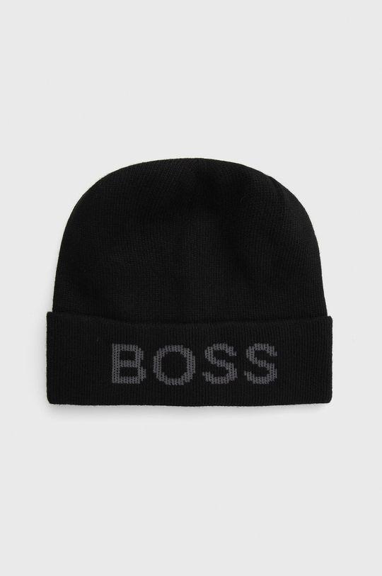 czarny Boss - Czapka Męski