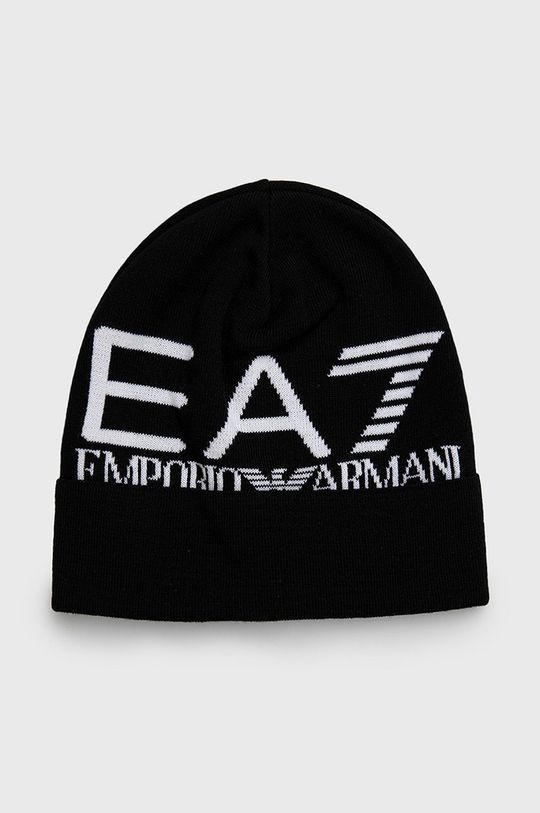 černá EA7 Emporio Armani - Čepice Pánský