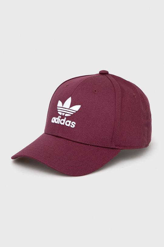 tmavě fialová adidas Originals - Čepice Pánský