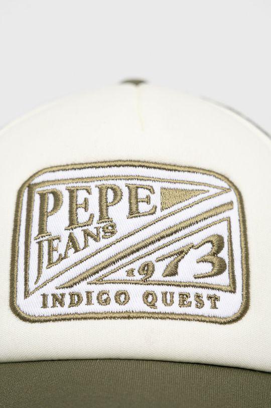 Pepe Jeans - Czapka Bradley zielony