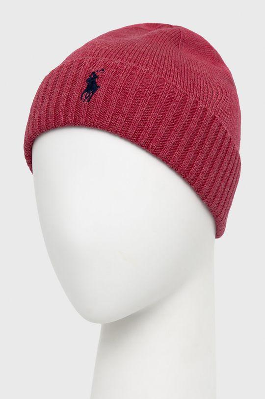 Polo Ralph Lauren - Czapka różowy