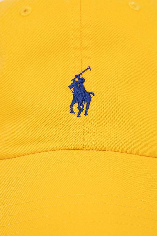 Polo Ralph Lauren - Czapka żółty
