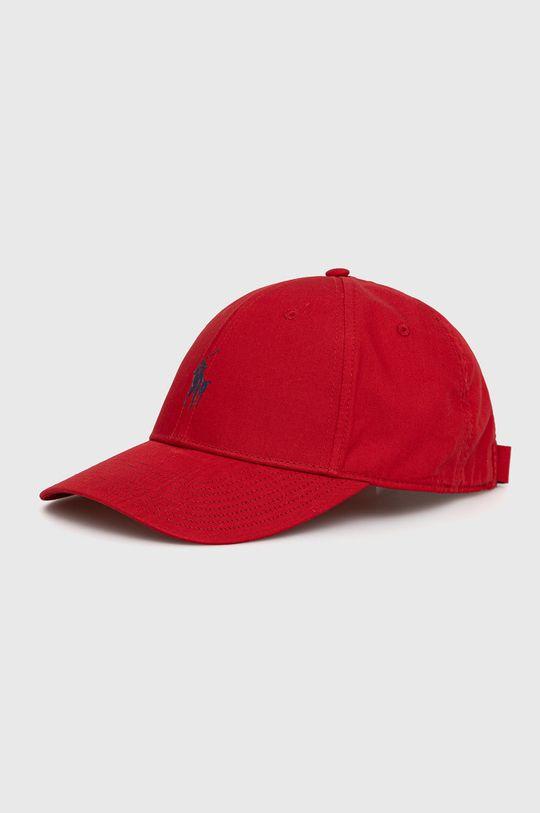 czerwony Polo Ralph Lauren - Czapka Męski