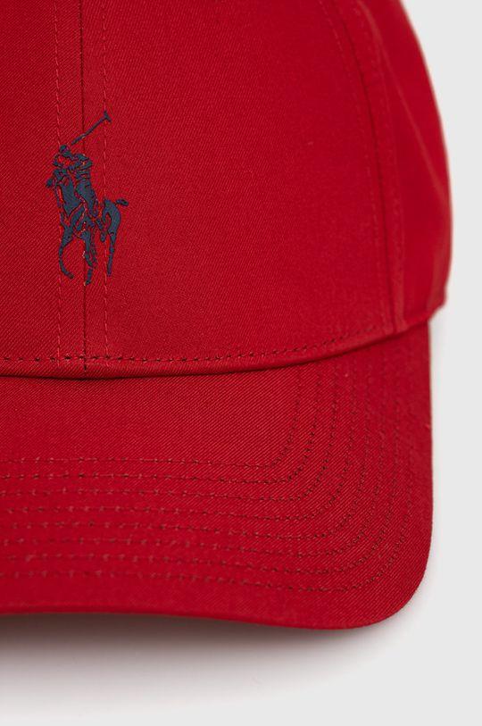 Polo Ralph Lauren - Czapka Podszewka: 20 % Bawełna, 80 % Poliester, Materiał zasadniczy: 56 % Bawełna, 44 % Poliester z recyklingu