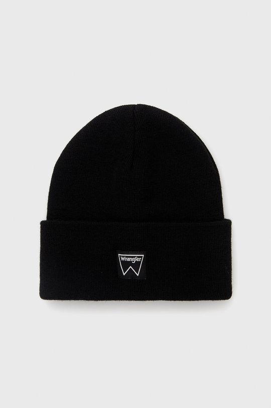 černá Wrangler - Čepice Pánský