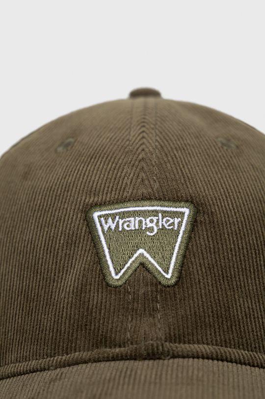 Wrangler - Czapka oliwkowy