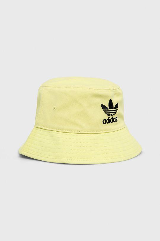 jasně žlutá adidas Originals - Klobouk Pánský