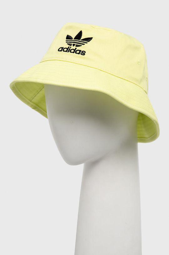adidas Originals - Klobouk jasně žlutá